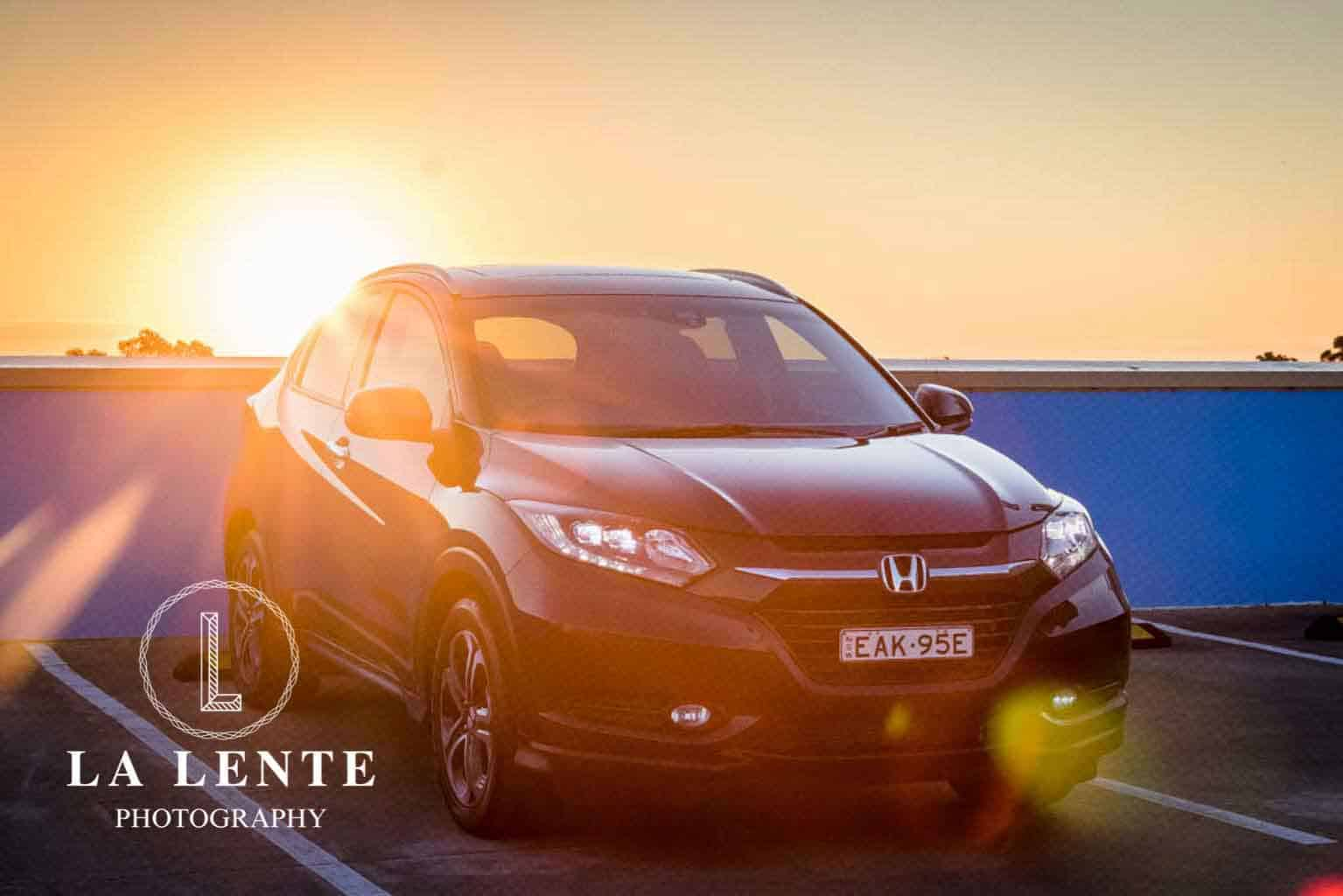 Car photography for Carsales for a 4WD Honda HRV